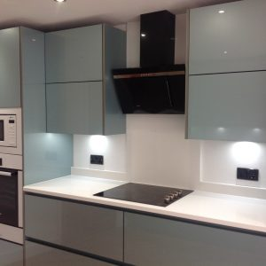 Modern Fitted New Kitchen by Brook Interiors